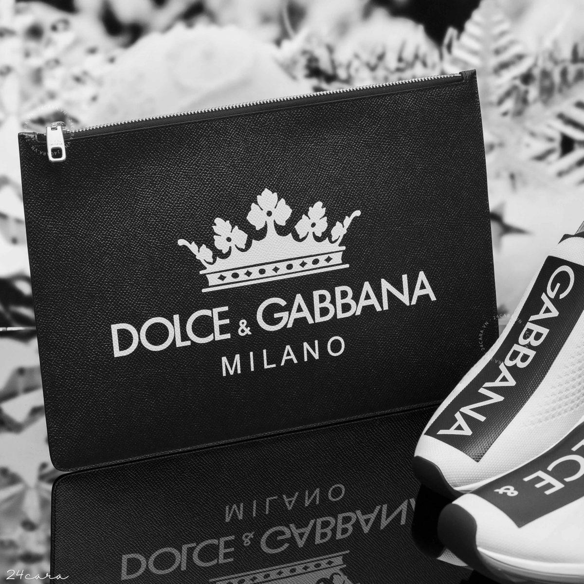 Cách phân biệt ví dolce & gabbana nam authentic và fake