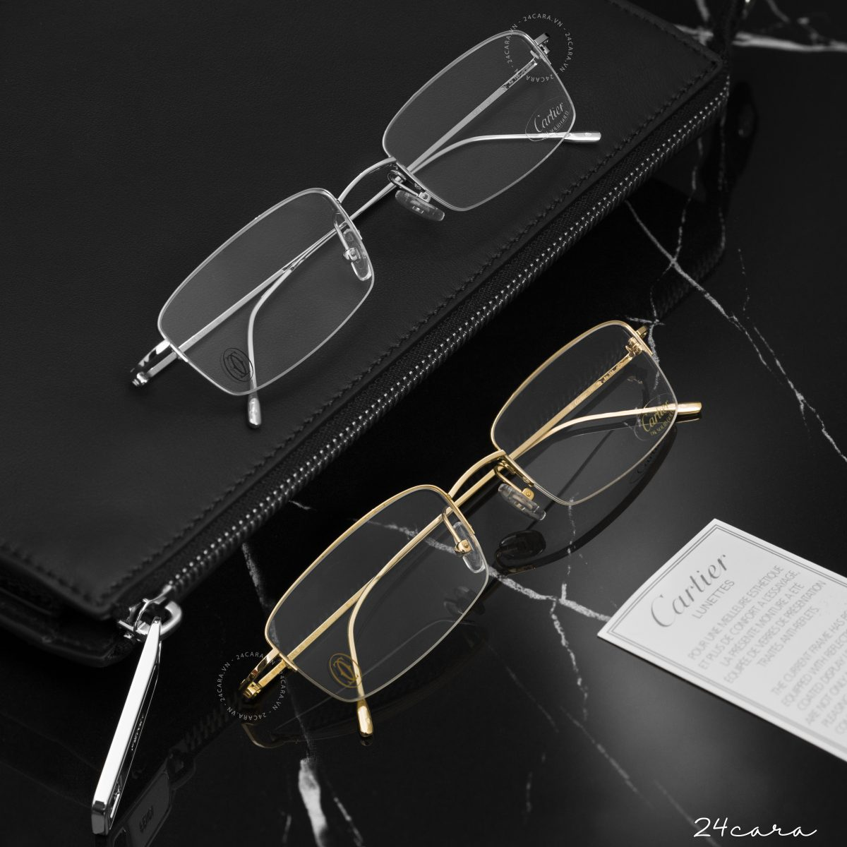CARTIER 18K SOLID GOLD OPTICAL GLASSES