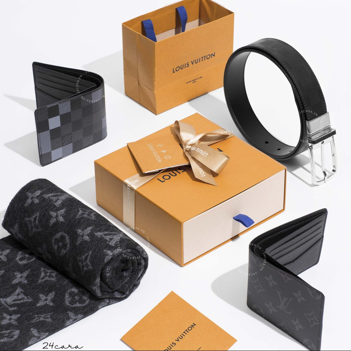 LOUIS VUITTON SLENDER 35MM REVERSIBLE BELT