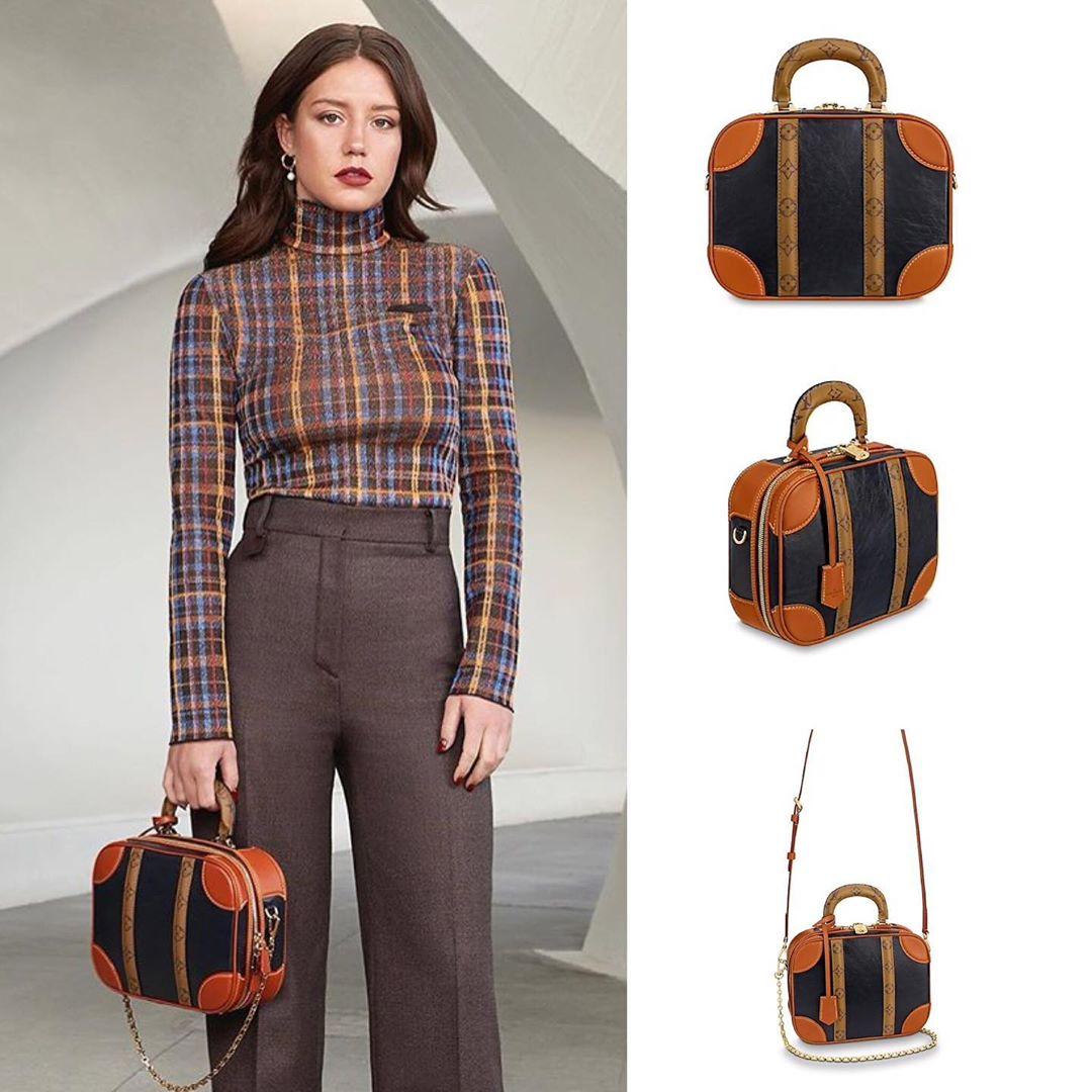 """Chiếc túi Mini Luggage liên tục xuất hiện trên Instagram như một """"cơn sốt"""" lan truyền mạnh mẽ trong làng thời trang toàn thế giới."""