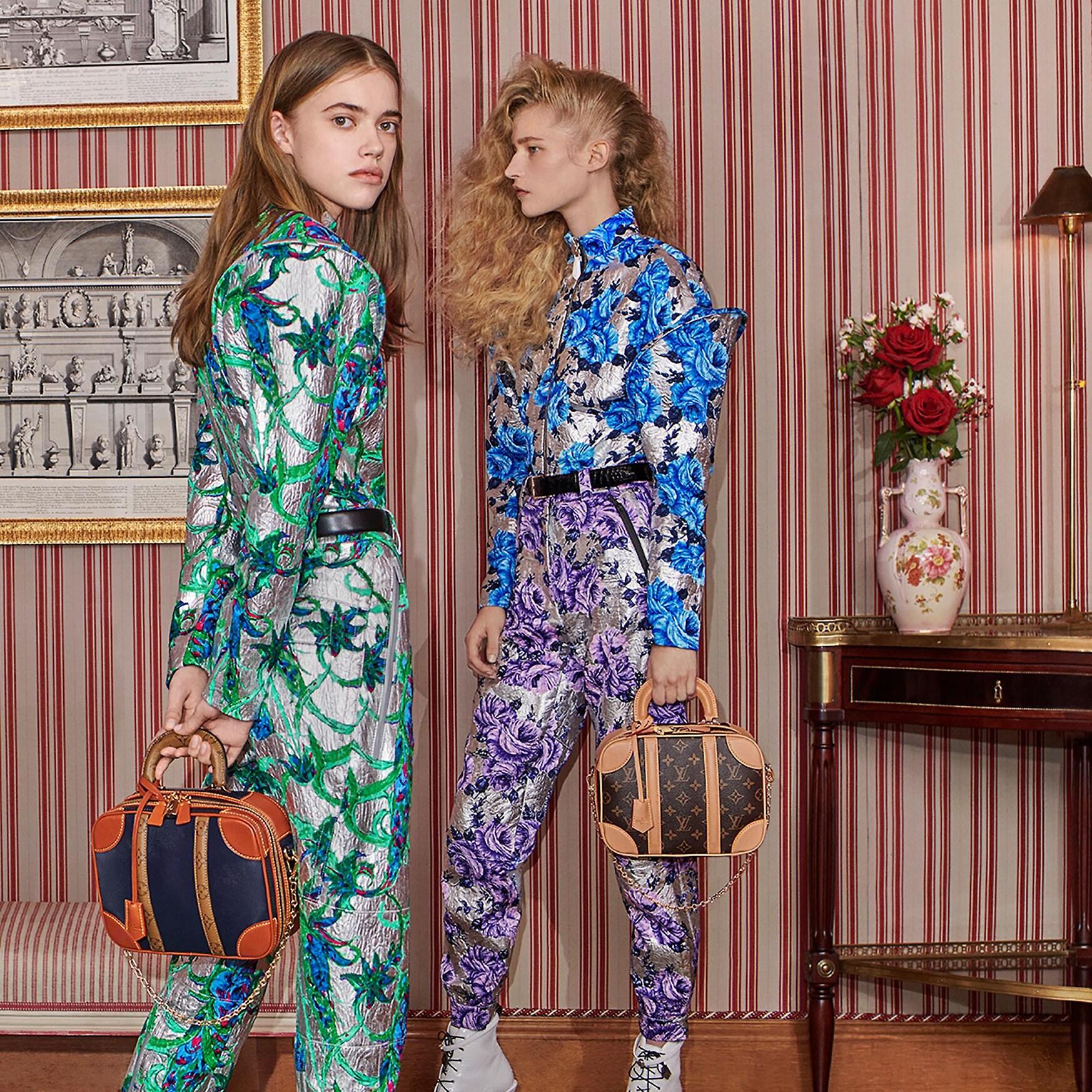 """Tại show diễn Xuân Hè 2019, nhà Louis Vuitton đã ra mắt tới giới mộ điệu thiết kế túi mới mang tên """"Mini Luggage""""."""