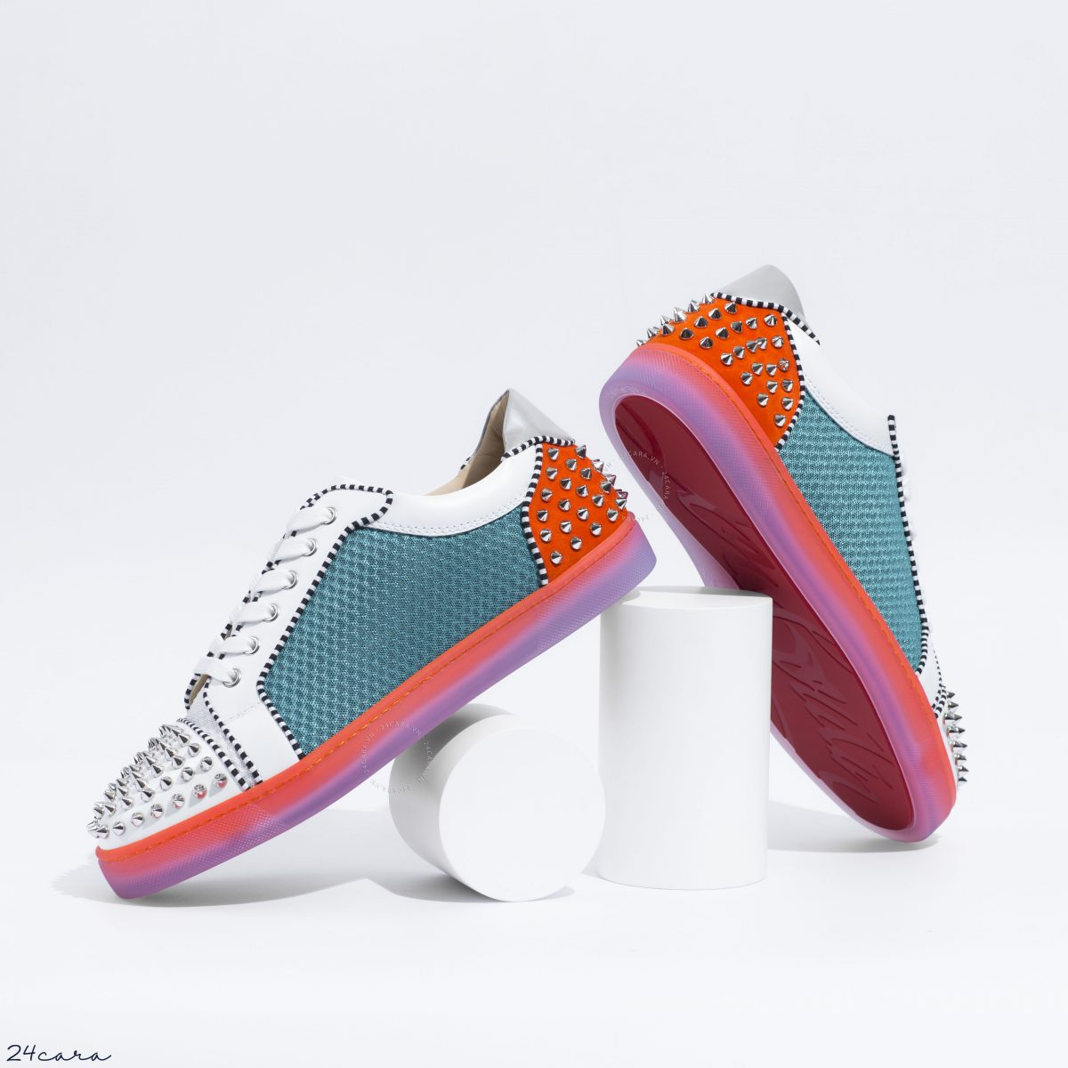 CHRISTIAN LOUBOUTIN AIR CONDITIONING SEAVASTE 2 VERSION MULTI MESH SNEAKERS