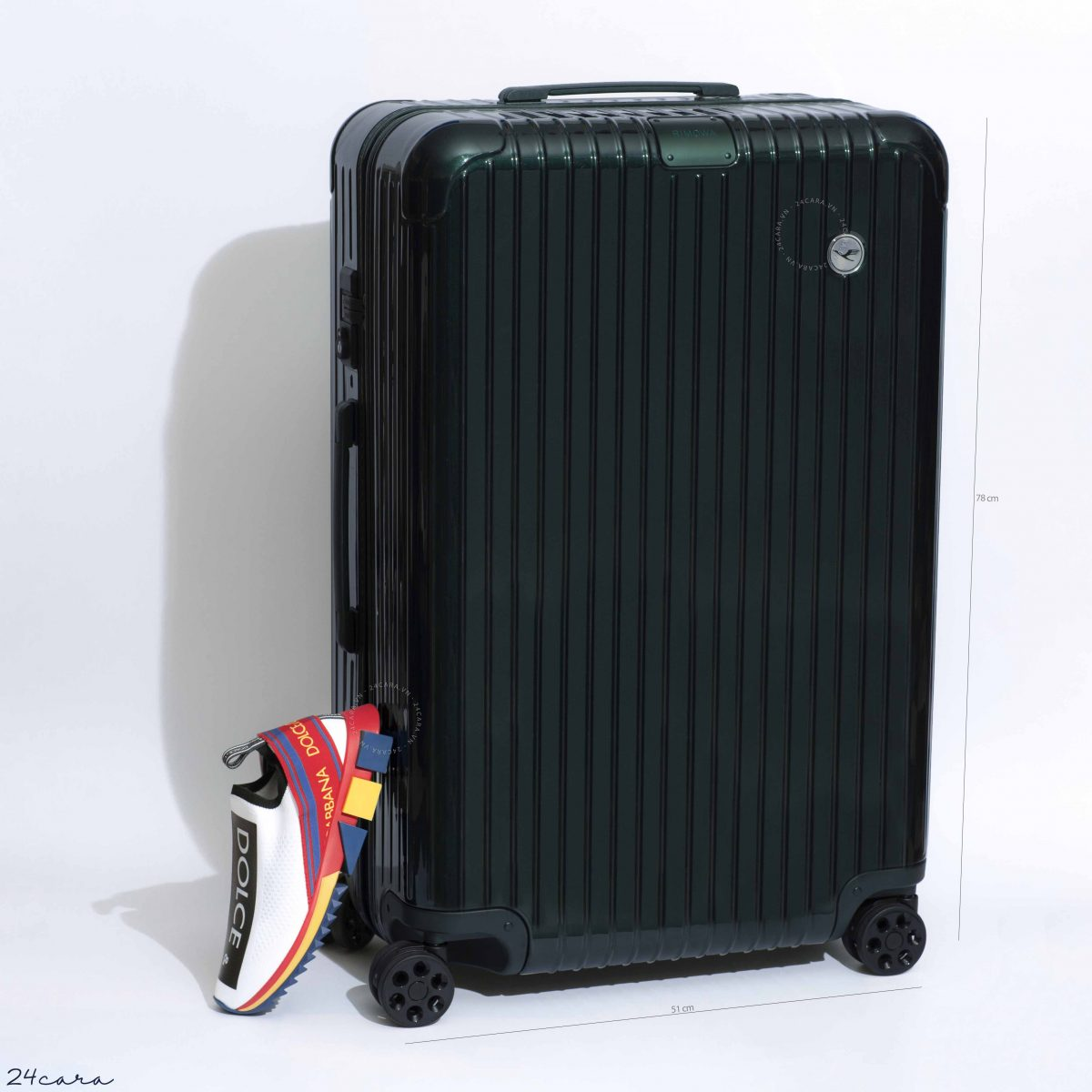 RIMOWA ESSENTIAL GREEN CHECK-IN L LUGGAGE
