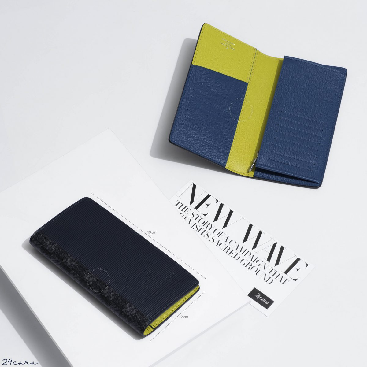 LOUIS VUITTON BRAZZA WALLET EPI LEATHER